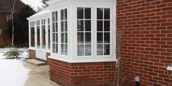 UPVC Bay Window in White.Why Not Refurbish Your Property